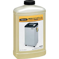 Fellowes; High-Security Shredder Oil, 32 Oz