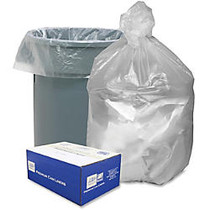Webster Trash Bag - Extra Large Size - 56 gal - 43 inch; Width x 48 inch; Length x 48 inch; Depth - 0.63 mil (16 Micron) Thickness - High Density - Natural - High-density Polyethylene (HDPE) - 200/Carton - Office Waste