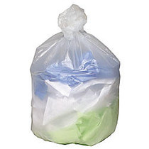 Webster Ultra Plus™ High-Density Trash Can Liners, 16 Gallons, 8 Mic Thick, 24 inch; x 33 inch;, Box Of 200