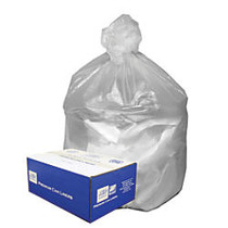 Webster Ultra Plus™ High-Density Trash Can Liners, 31-33 Gallons, 11 Mic Thick, 33 inch; x 40 inch;, Box Of 100