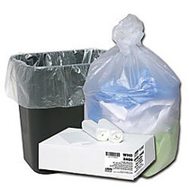 Webster Ultra Plus™ High-Density Trash Can Liners, 7-10 Gallons, 8 Mic Thick, 24 inch; x 24 inch;, Box Of 500