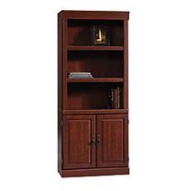 Sauder; Heritage Hill 2-Door Bookcase, 71 1/4 inch;H x 29 3/4 inch;W x 13 inch;D, Classic Cherry
