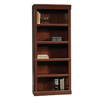 Sauder; Heritage Hill Open Bookcase, 71 1/4 inch;H x 29 3/4 inch;W x 13 inch;D, Classic Cherry