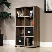 Sauder; Transit Collection Cube-Style Bookcase Room Divider, 55 1/2 inch;H x 31 1/8 inch;W x 14 1/2 inch;D, Salted Oak