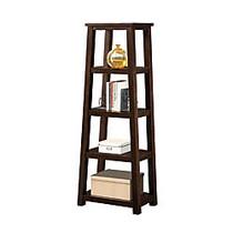 Whalen; Triton 5-Shelf Bookcase, 60 inch;H x 23 inch;W x 14 inch;D, Walnut