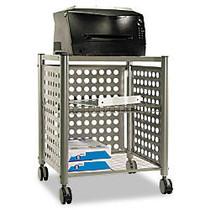 Vertiflex™ Deskside Machine Stand, 7 inch;H x 21 1/2 inch;W x 17 7/8 inch;D, Matte Gray