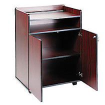 Safco; Executive Mobile Presentation Stand, 40 3/4 inch;H x 29 1/2 inch;W x 20 1/2 inch;D, Mahogany