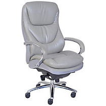 Serta; Smart Layers™ Big & Tall Commercial Series 600 Task Chair, Polished Steel/Grey