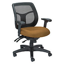 Raynor; Eurotech Apollo VMFT9450 Mid-Back Multifunction Manager Chair, 39 1/2 inch;H x 26 inch;W x 20 inch;D, Beige Circuit Bronze Fabric
