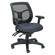 Raynor; Eurotech Apollo VMFT9450 Mid-Back Multifunction Manager Chair, 39 1/2 inch;H x 26 inch;W x 20 inch;D, Blue Quattro Laguna Fabric