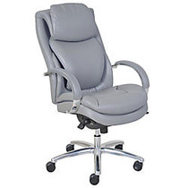 Serta; Wellness by Design AIR™ Commercial Series 100 Executive Puresoft; Faux Leather Chair, Grey