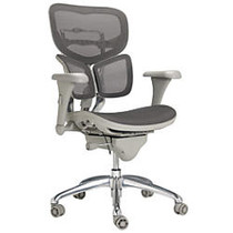 WorkPro; PRO-767E Commercial Mesh-Back Executive Chair, Gray
