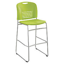 Safco; Vy Bistro Sled Base Chair, 45 inch;H x 18 inch;W x 22 inch;D, Grass