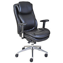 Serta; Wellness by Design AIR™ Commercial Series 200 Task Puresoft; Faux Leather Task Chair, Black