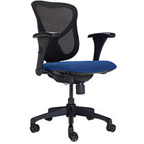 WorkPro; 769T Commercial Office Task Chair, Blue/Black
