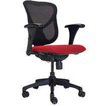 WorkPro; 769T Commercial Office Task Chair, Red/Black