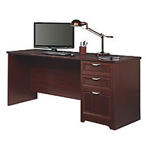 Realspace; Magellan Performance Collection Straight Desk, 30 inch;H x 70 9/10 inch;W x 23 1/4 inch;D, Cherry