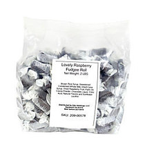 The Lovely Candy Company Lovely Raspberry Fudgee Rolls, 2 Lb
