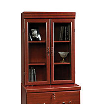 Sauder; Heritage Hill Lateral File Hutch, 41 inch;H x 29 7/8 inch;W x 13 inch;D, Classic Cherry