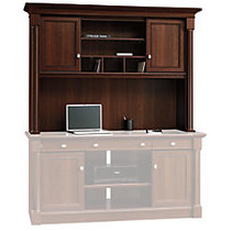 Sauder; Palladia Collection Credenza Hutch, 45 inch;H x 63 3/10 inch;W x 15 1/8 inch;D, Select Cherry