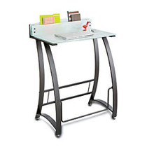 Safco Xpressions Stand-Up Workstation, 49 1/4 inch;H x 35 inch;W x 24 3/4 inch;D, Black