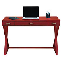 See Jane Work; Kate Writing Desk, 30 inch;H x 47 1/2 inch;W x 20 inch;D, Red