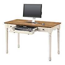 Whalen; Chelsea Collection Writing Desk, 30 inch;H x 47 3/4 inch;W x 23 1/2 inch;D, Antique White