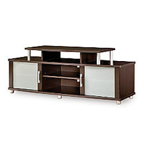 South Shore Furniture City Life TV Stand, 22 inch;H x 59 inch;W x 20 inch;D, Chocolate