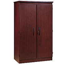 South Shore Furniture Morgan Collection Armoire, 60 inch;H x 36 inch;W x 20 inch;D, Royal Cherry