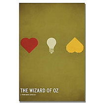 Trademark Global Wizard Of Oz Gallery-Wrapped Canvas Print By Christian Jackson, 16 inch;H x 24 inch;W