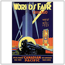 Trademark Global World's Fair-Chicago Gallery-Wrapped Canvas Print By Anonymous, 24 inch;H x 32 inch;W
