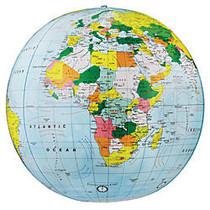 Replogle; Inflate-a-Globe, Political, 16 inch;, Light Blue