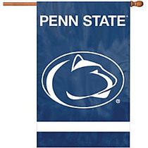 Party Animal Penn State Applique Banner Flag