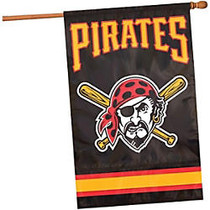 Party Animal Pittsburgh Pirates Appliqué Banner Flag