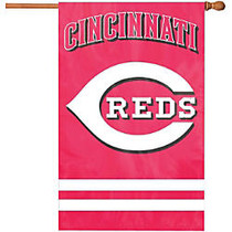 Party Animal Reds Applique Banner Flag