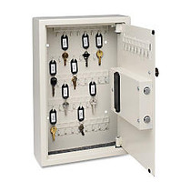 Steelmaster Electronic Key Safe - Electronic Lock - Scratch Resistant - Overall Size 17.4 inch; x 5.5 inch; x 4 inch; - Sand - Steel