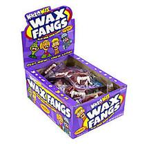 Wack-O-Wax Gummy Candies, Fangs, Box Of 24