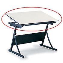 Safco; Planmaster Drafting Table Top, 3/4 inch;H x 60 inch;W x 37 1/2 inch;D, White