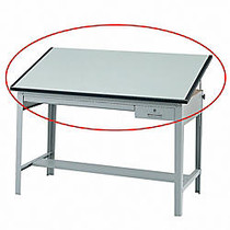 Safco; Precision Drafting Table Top, 60 inch;W x 37 1/2 inch;D