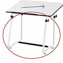 Safco; Vista Drawing Table Base, White