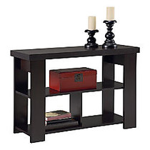 Altra Furniture Sofa Table, 28 3/4 inch;H x 41 1/2 inch;W x 15 1/2 inch;D, Black Forest