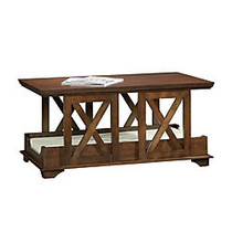 Sauder; Pet Home Coffee Table Pet Bed, 20 1/8 inch;H x 42 5/8 inch;W x 23 5/8 inch;D, Espresso