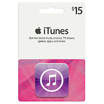 iTunes $15 Gift Card, iTunes Icon
