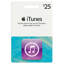 iTunes $25 Gift Card, iTunes Icon