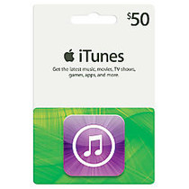 iTunes $50 Gift Card, iTunes Icon