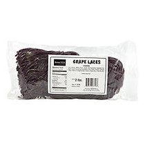 Kervan Licorice Laces, Grape, 2-Lb Bag