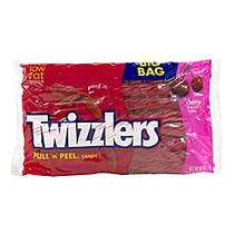 Twizzlers Pull 'n' Peel, Cherry, 28-Oz Bags, Pack Of 2 Bags