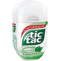 Tic Tac Breath Mints - Freshmint - Resealable Container - 3.40 oz - 4 / Pack