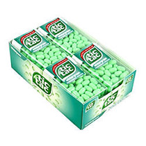 Tic Tac Hard Candy Singles, Wintergreen, 1-Oz Containers, Pack Of 12