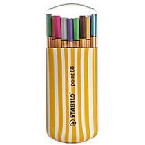 Stabilo Point 88 Pens, Zebrui, 20-Pen Box Set, Pack Of 2 Sets